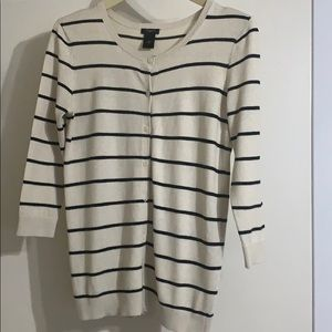 Ann Taylor Factory Cardigan Size Small